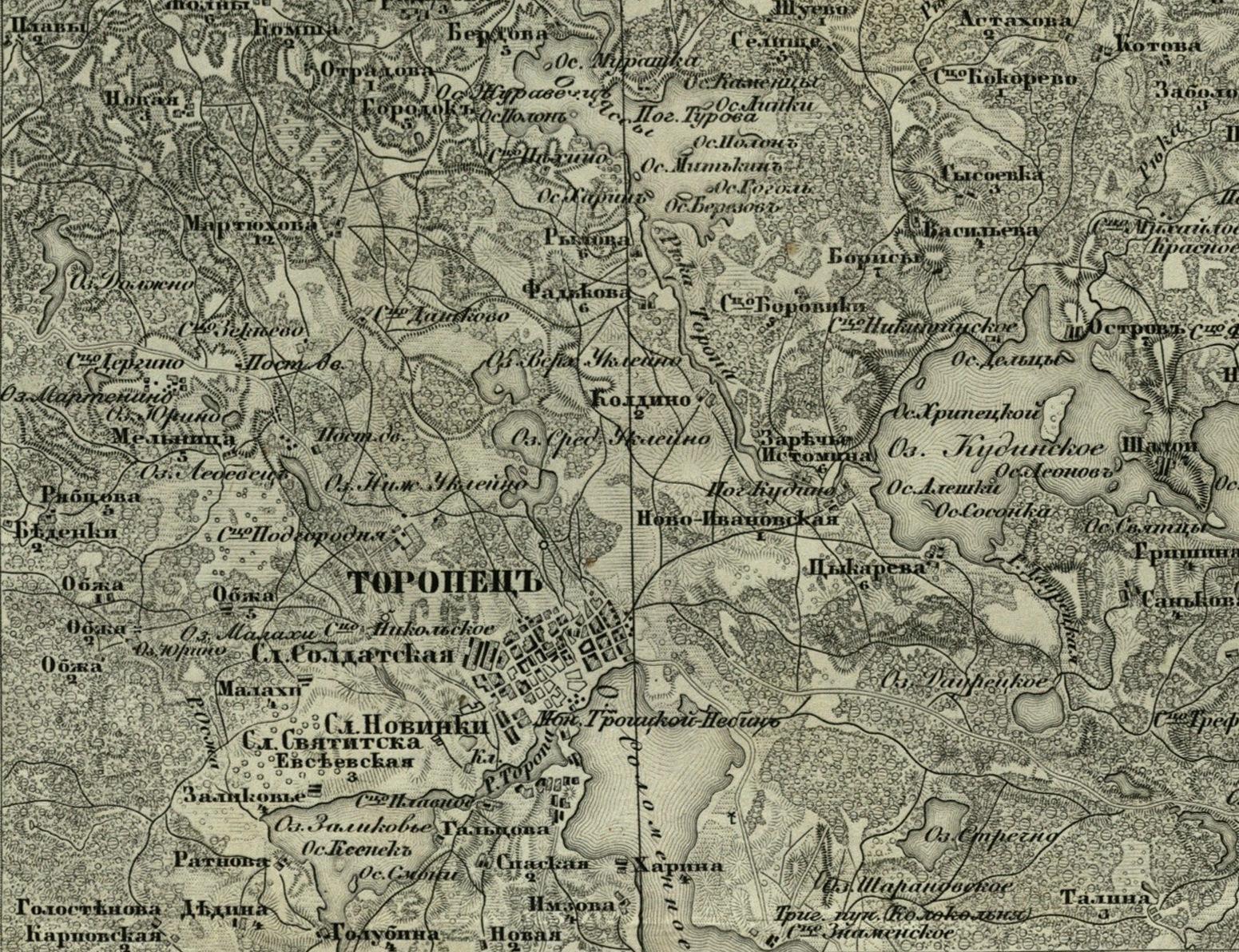 фото карты торопецкий район кажется, что